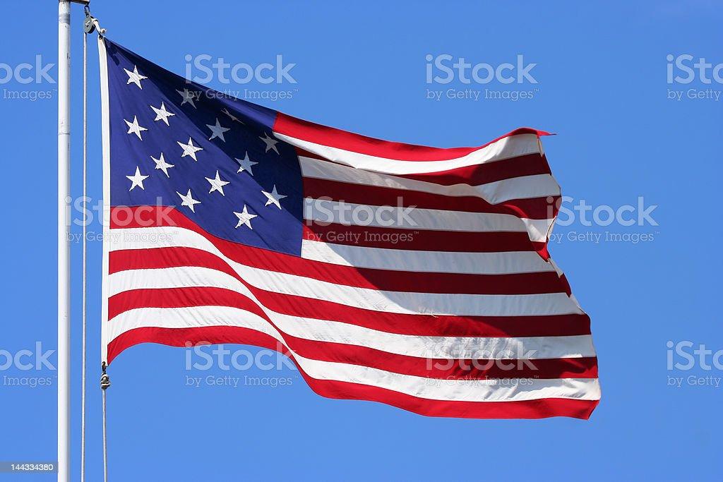 US Flag royalty-free stock photo
