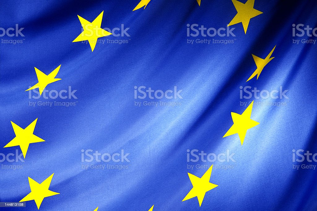 EEC flag royalty-free stock photo