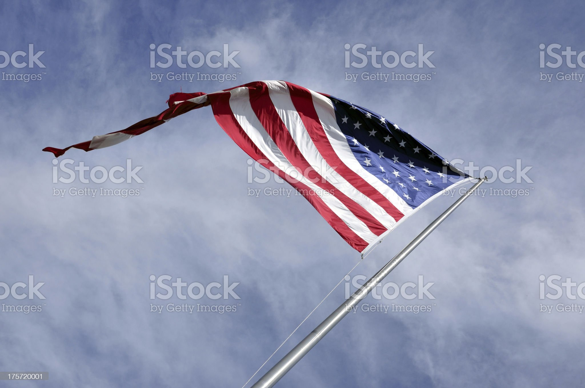 US flag royalty-free stock photo