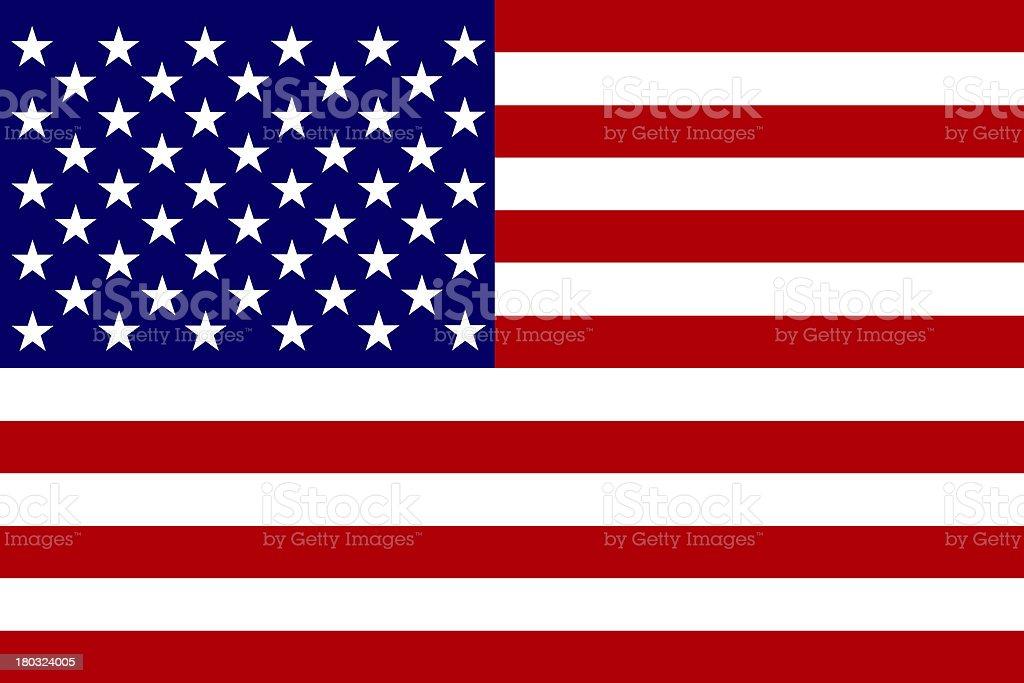 USA Flag royalty-free stock photo