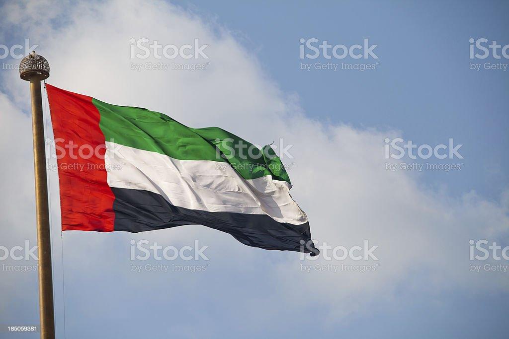 UAE Flag stock photo