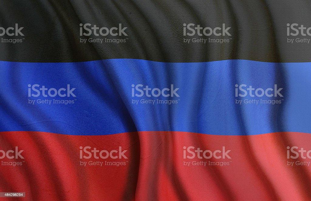 DNR Flag stock photo