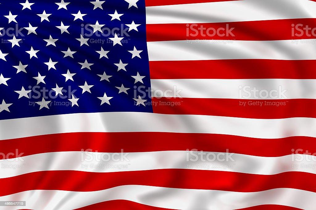 USA Flag stock photo