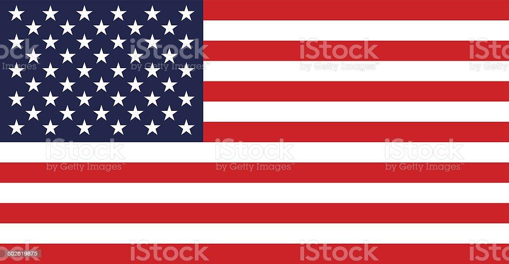 USA flag. royalty-free stock photo
