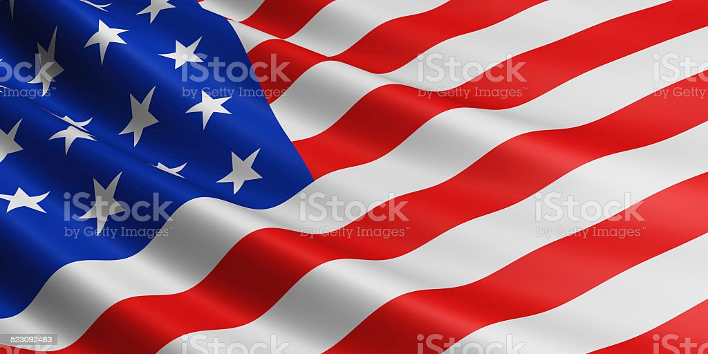 USA flag. royalty-free stock photo