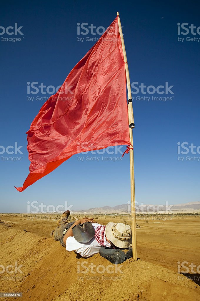 Flag royalty-free stock photo