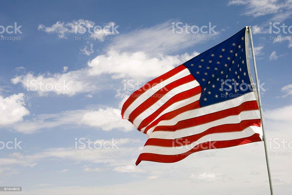 Flagge#2 Lizenzfreies stock-foto