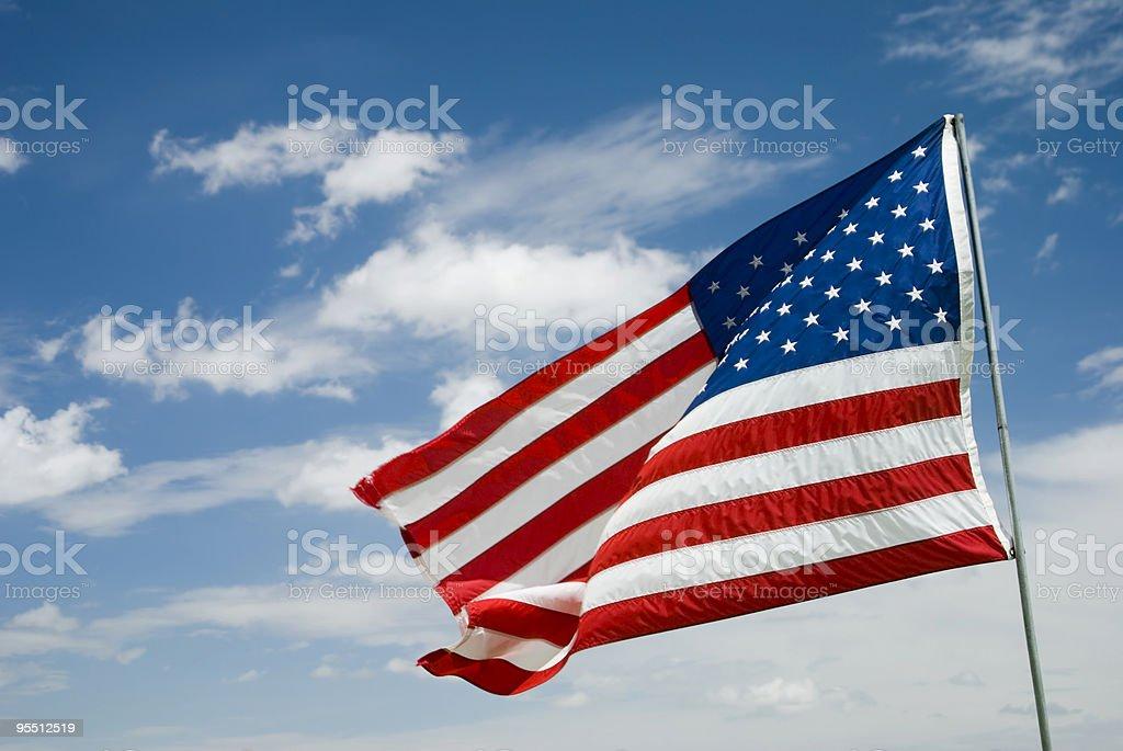 Flagge Lizenzfreies stock-foto