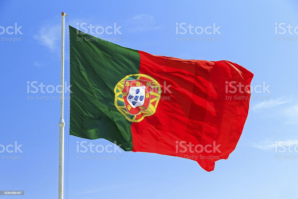 Flag Portugal stock photo