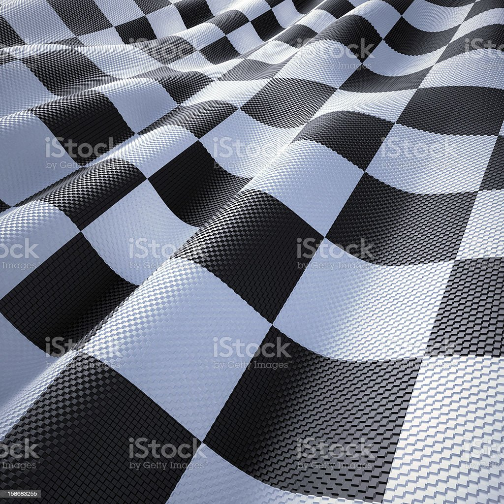 Flag Racing stock photo