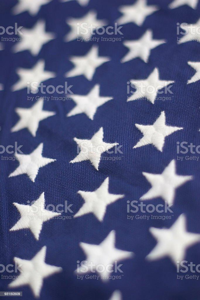 Flag: Stars royalty-free stock photo
