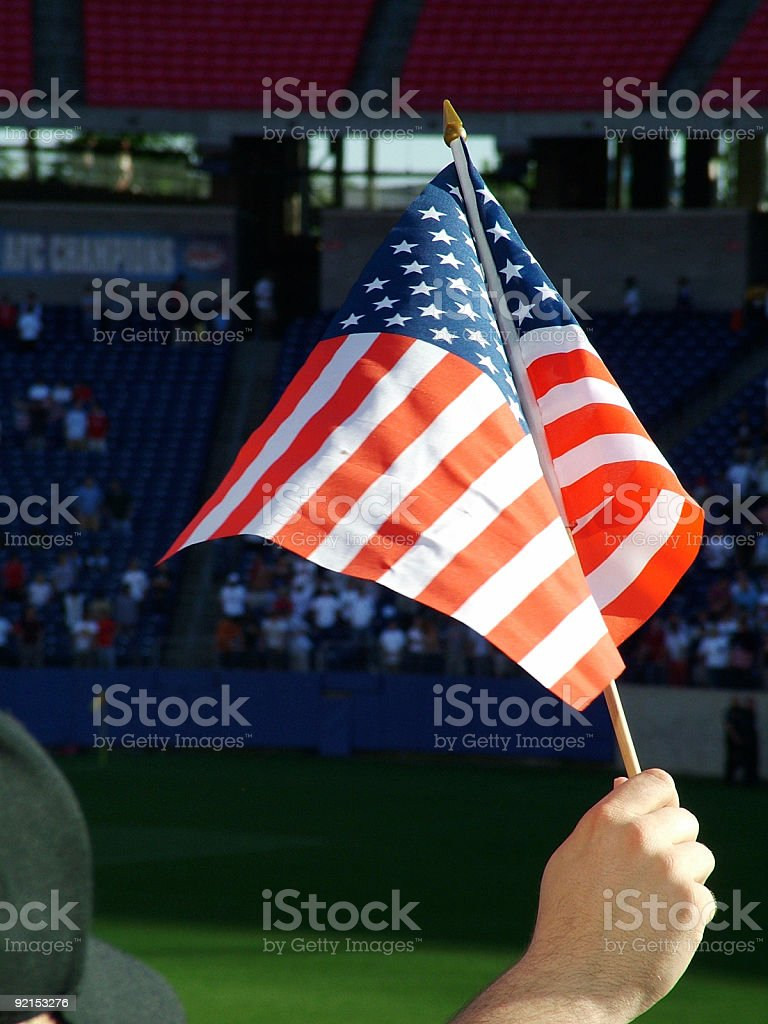 Flag United States of America royalty-free stock photo