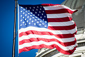 Flags at the Utah Capitol