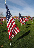 Flags of honor and gratitude