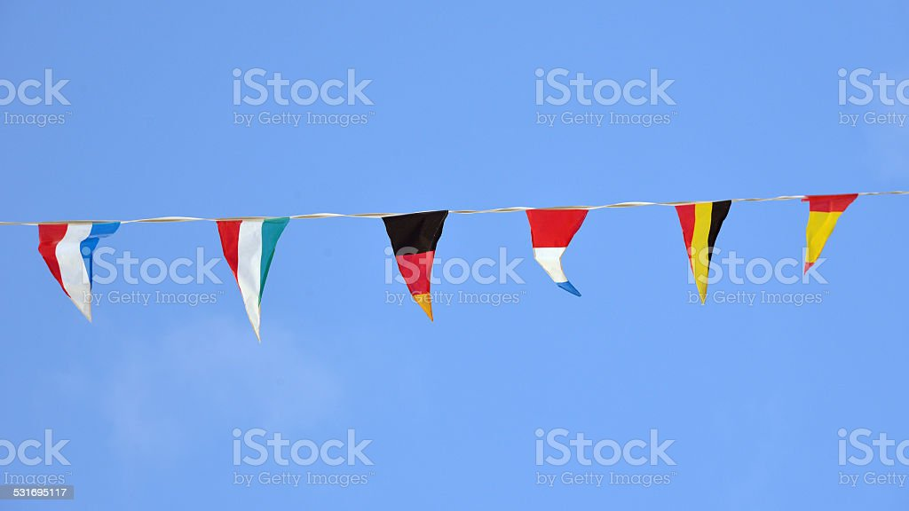 flags outdoor royalty-free stock photo