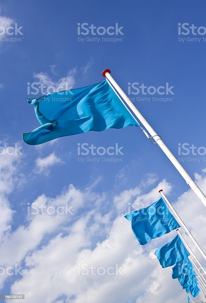 Flags royalty-free stock photo