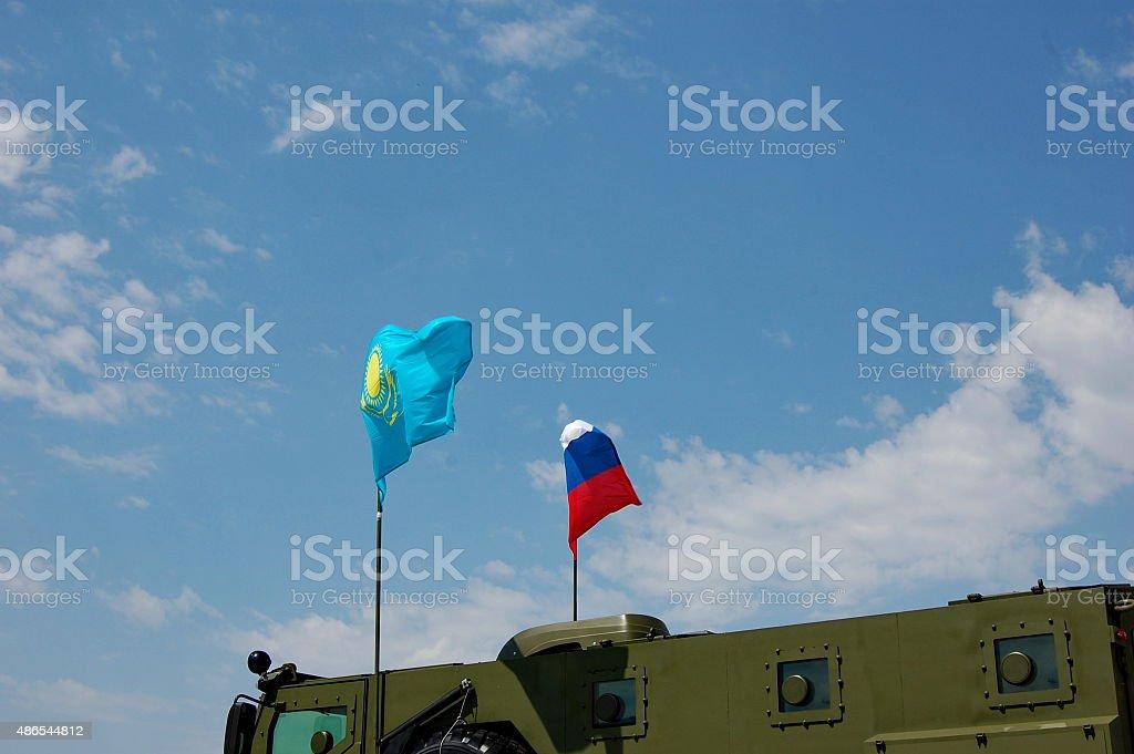 Flags Lizenzfreies stock-foto