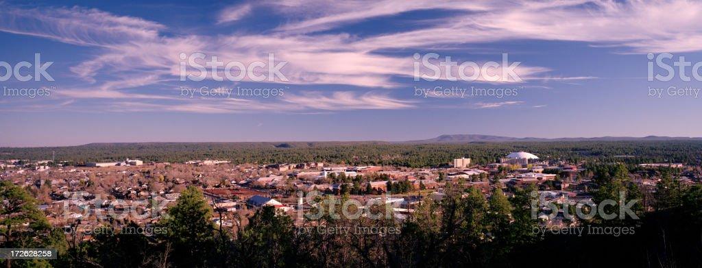 Flagstaff, Arizona, United States (South Part) stock photo