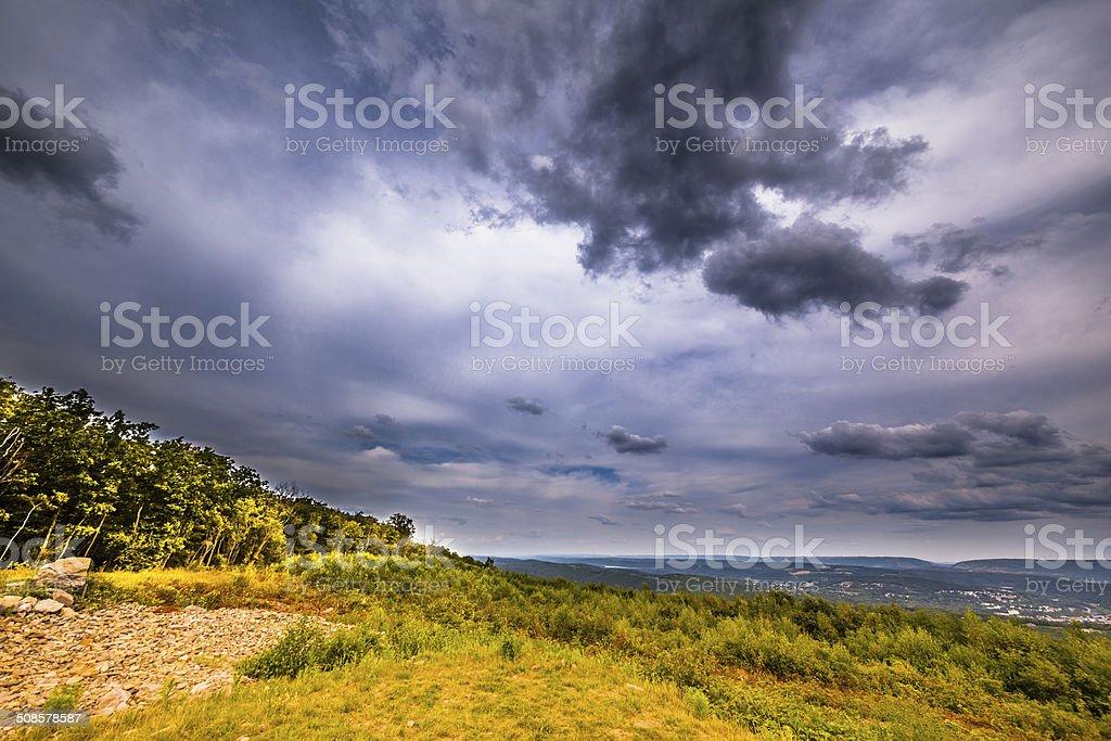 Flagstaff Mountain Park, Carbon County, Pennsylvania stock photo