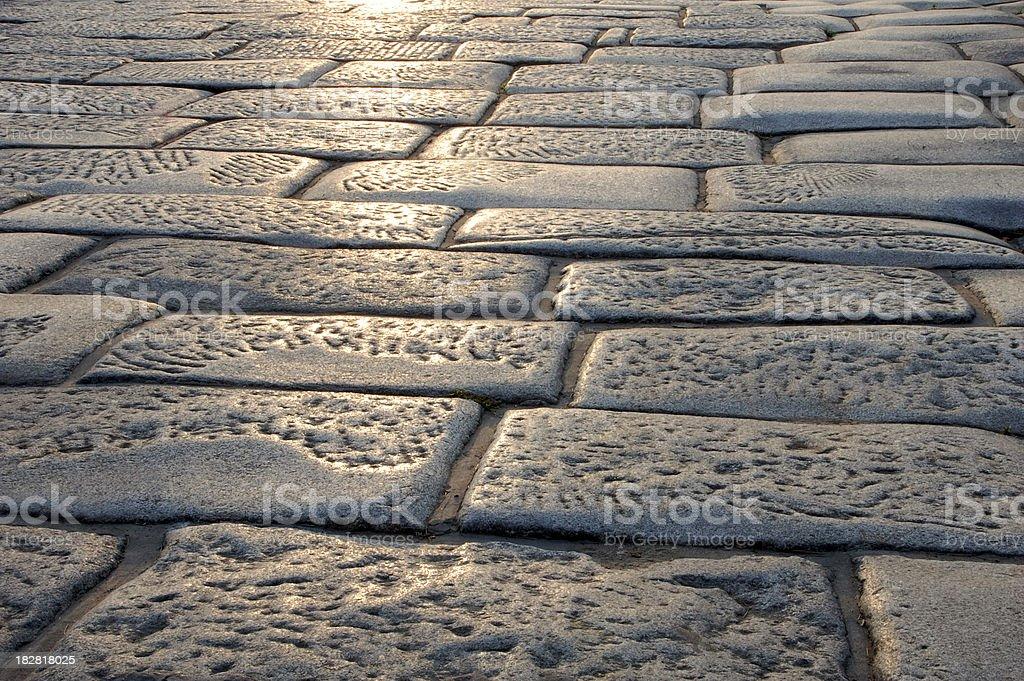 flagstone pavement stock photo