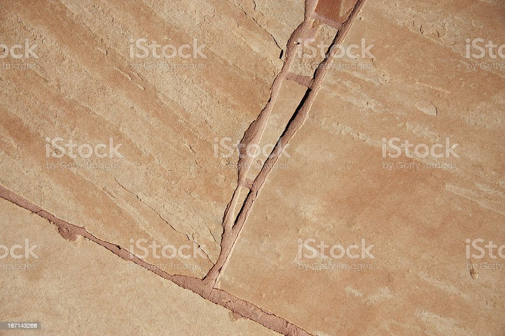 Flagstone Paving Stone Background royalty-free stock photo