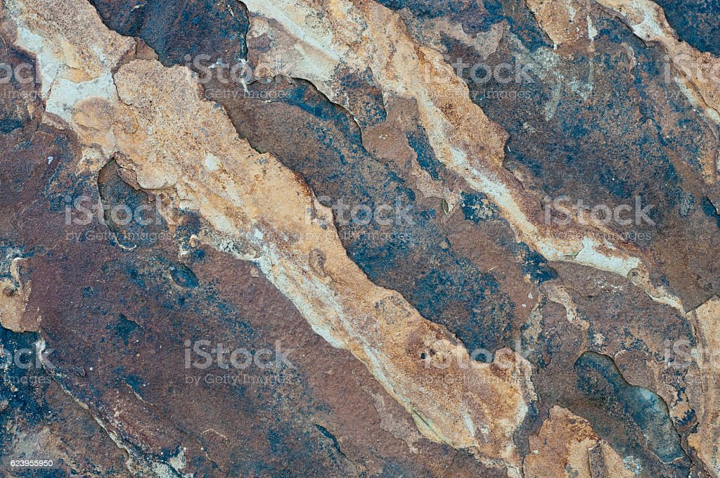 Flagstone texture close up for background. stock photo