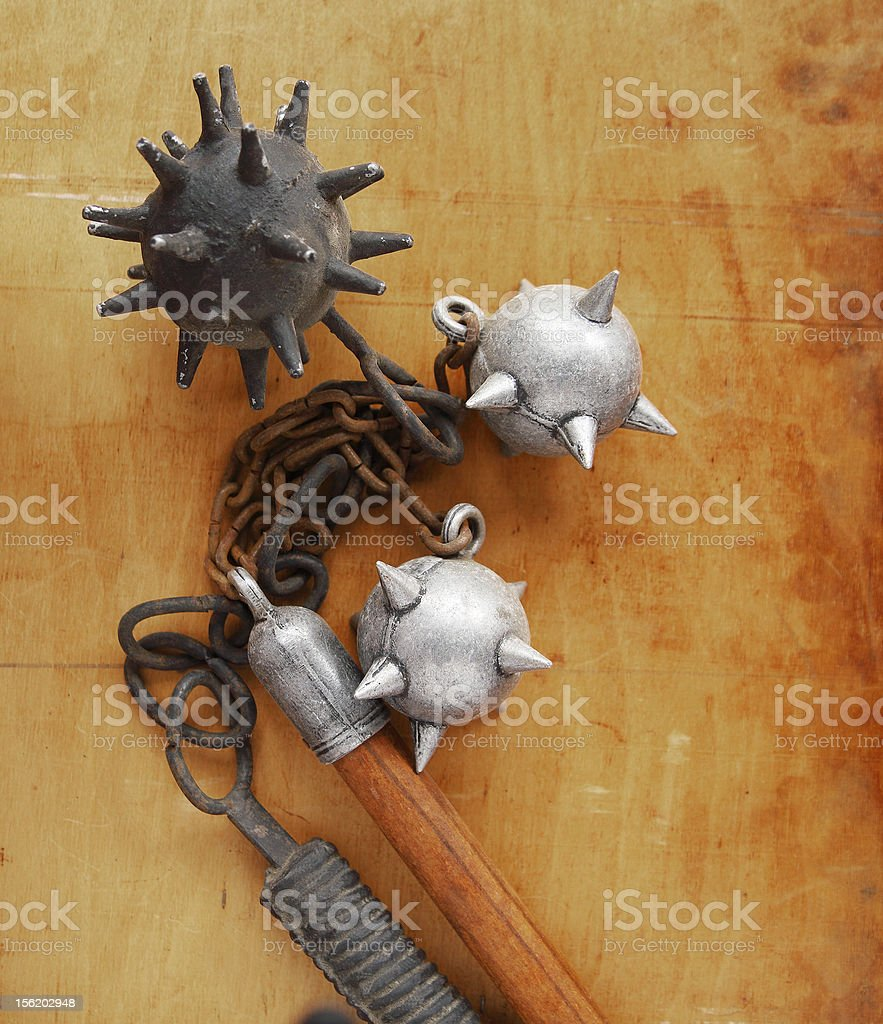 flails stock photo