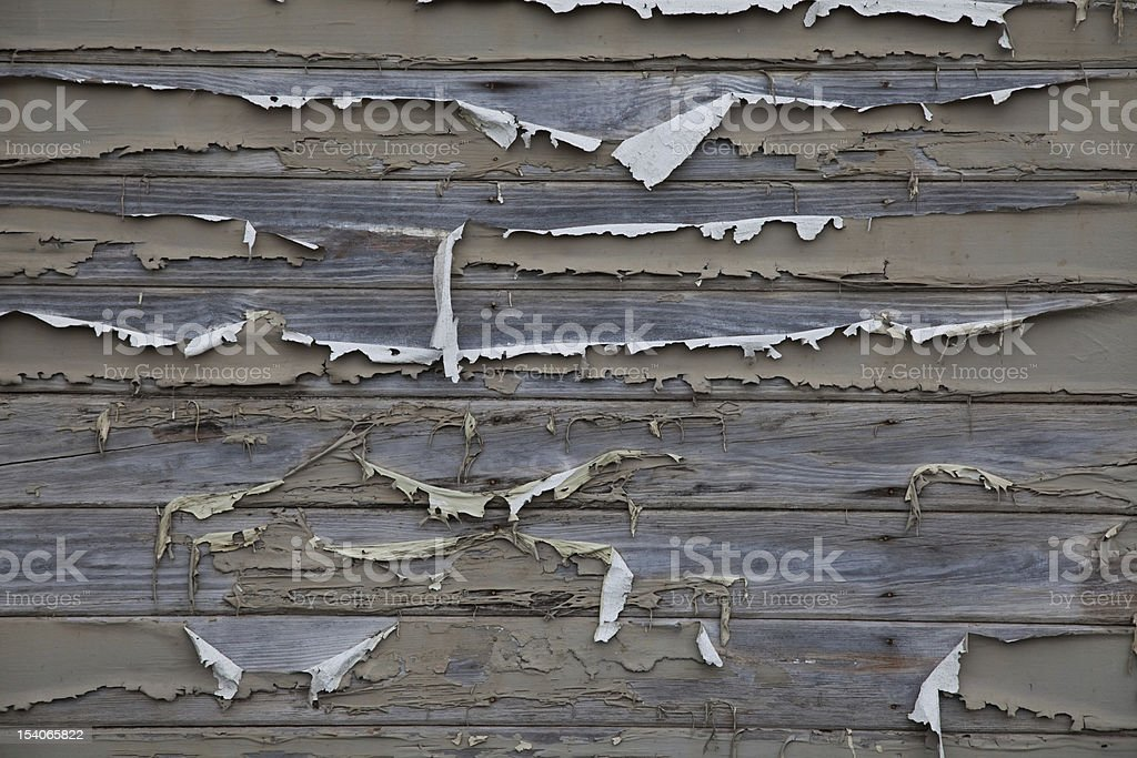 Flaking paint stock photo