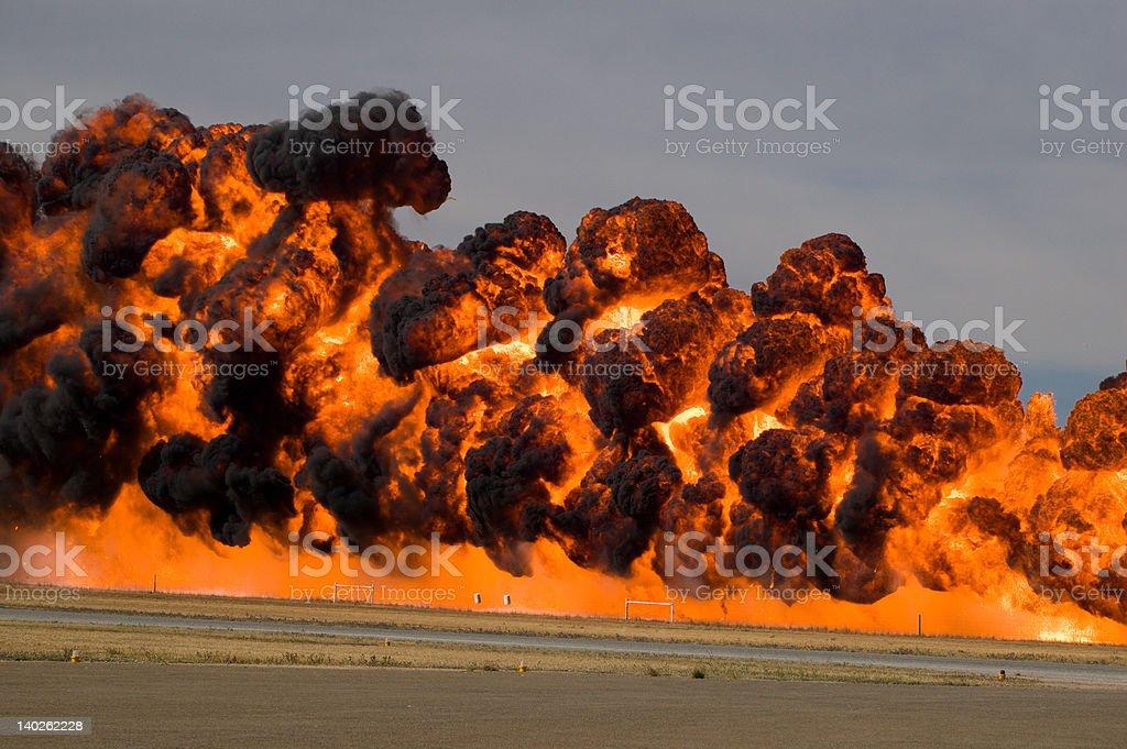 Flamage royalty-free stock photo