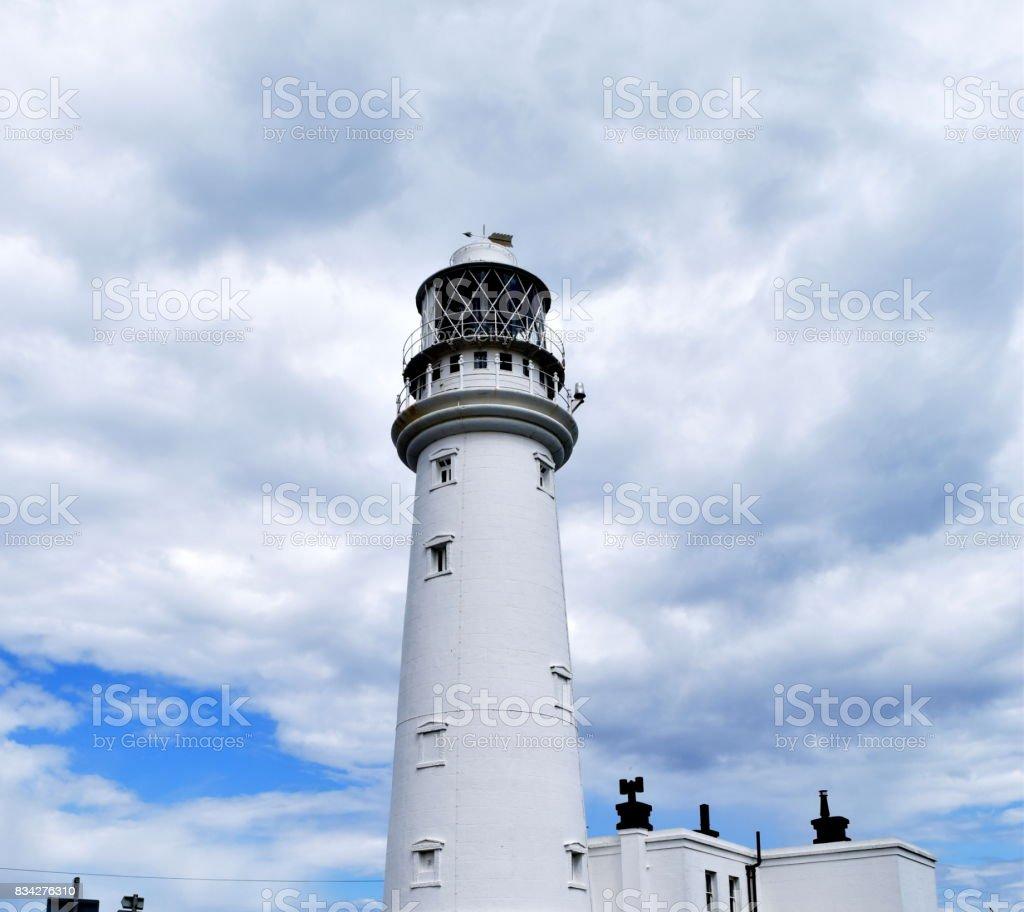 flamborough head light house yorkshire uk stock photo