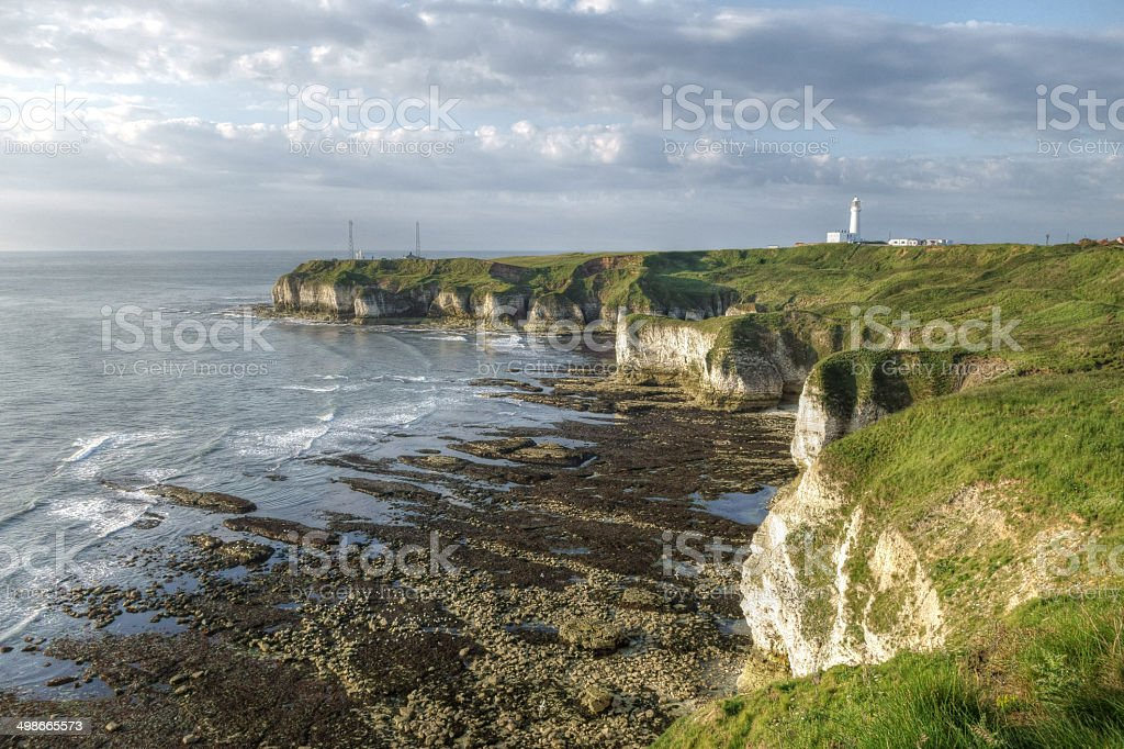 Flamborough Head stock photo