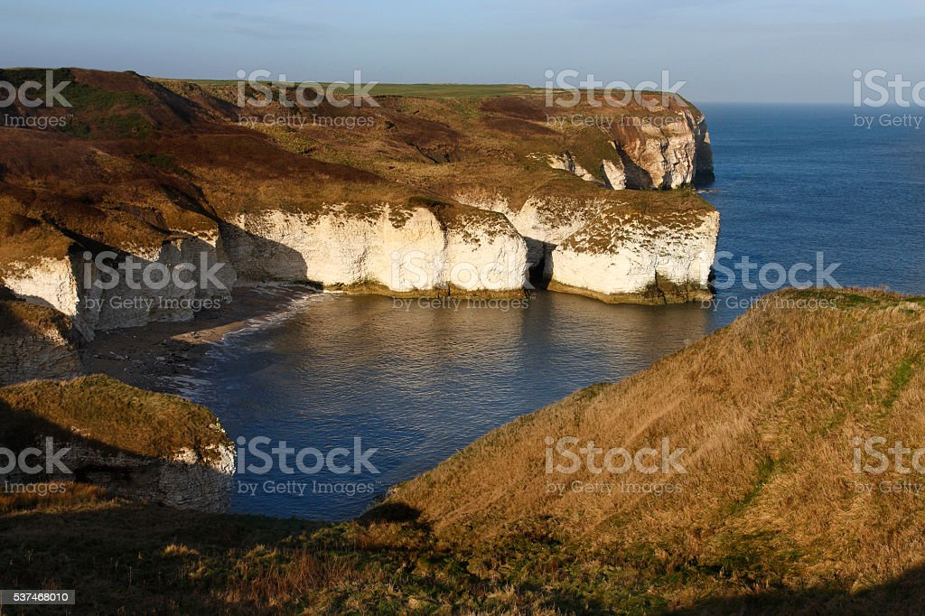 Flamborough Head - Yorkshire - England stock photo