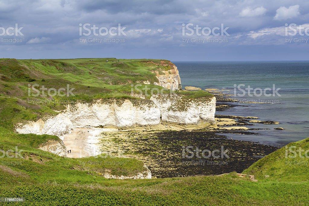 Flamborough Head Yorkshire stock photo