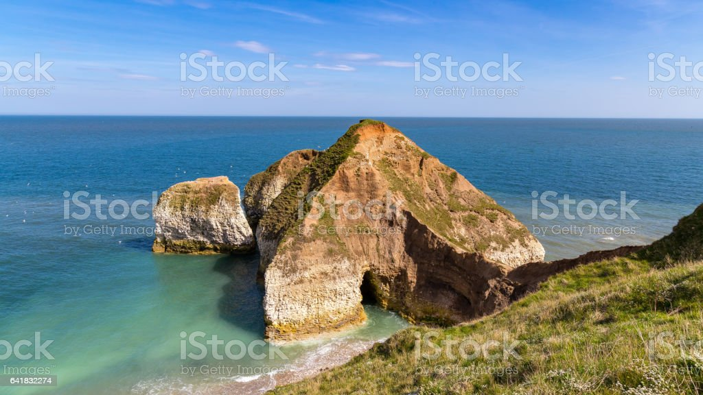 Flamborough Headland Heritage Coast stock photo