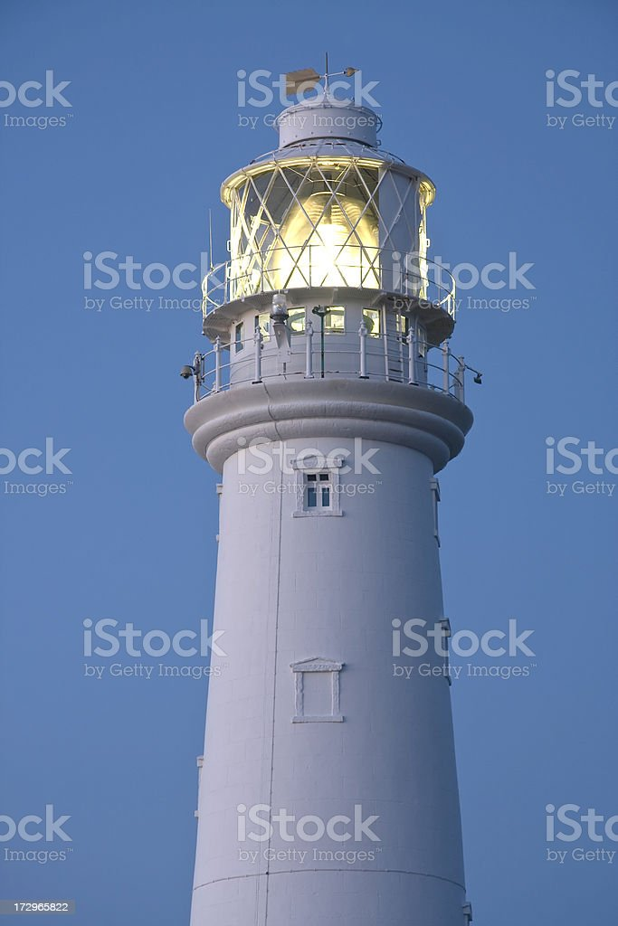 Flamborough Lighthouse at Dawn royalty-free stock photo