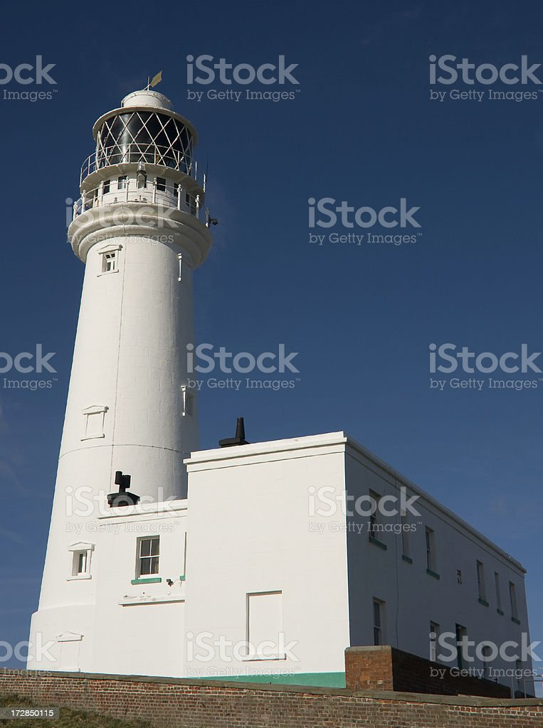 Flamborough Lighthouse stock photo