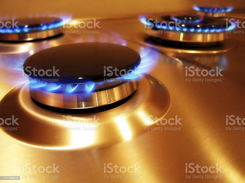 Flame 2 stock photo