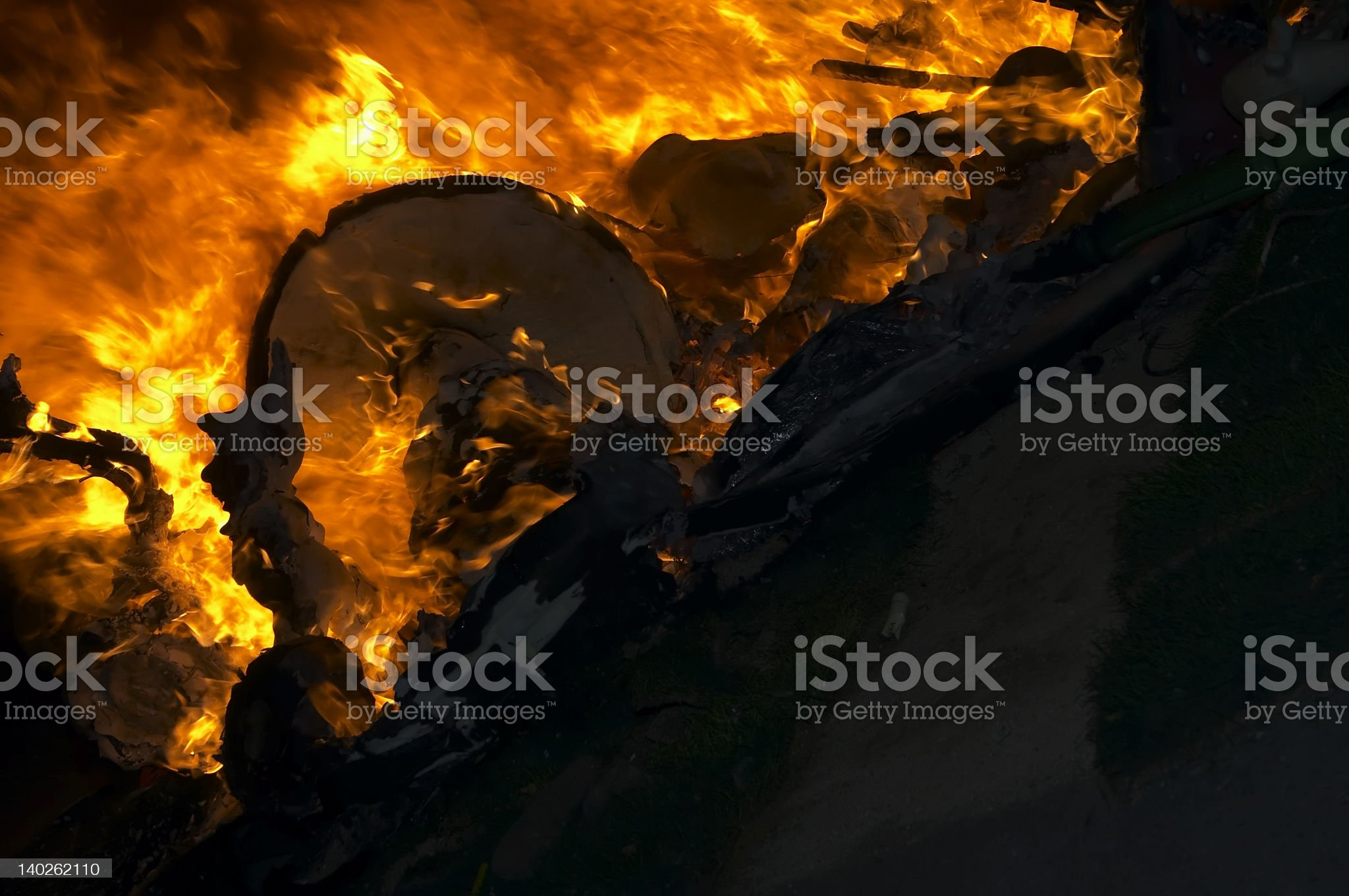 flame background royalty-free stock photo