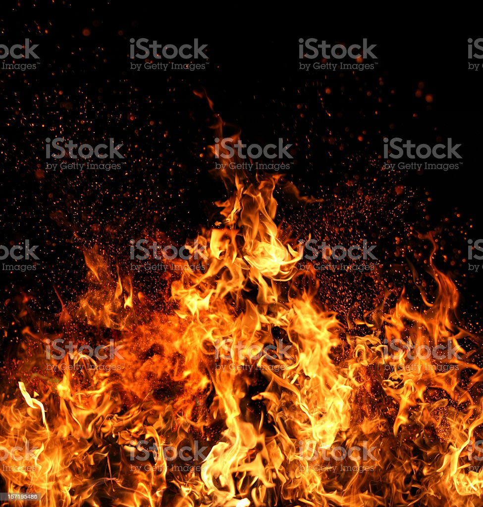 Flame of Fire royalty-free stock photo