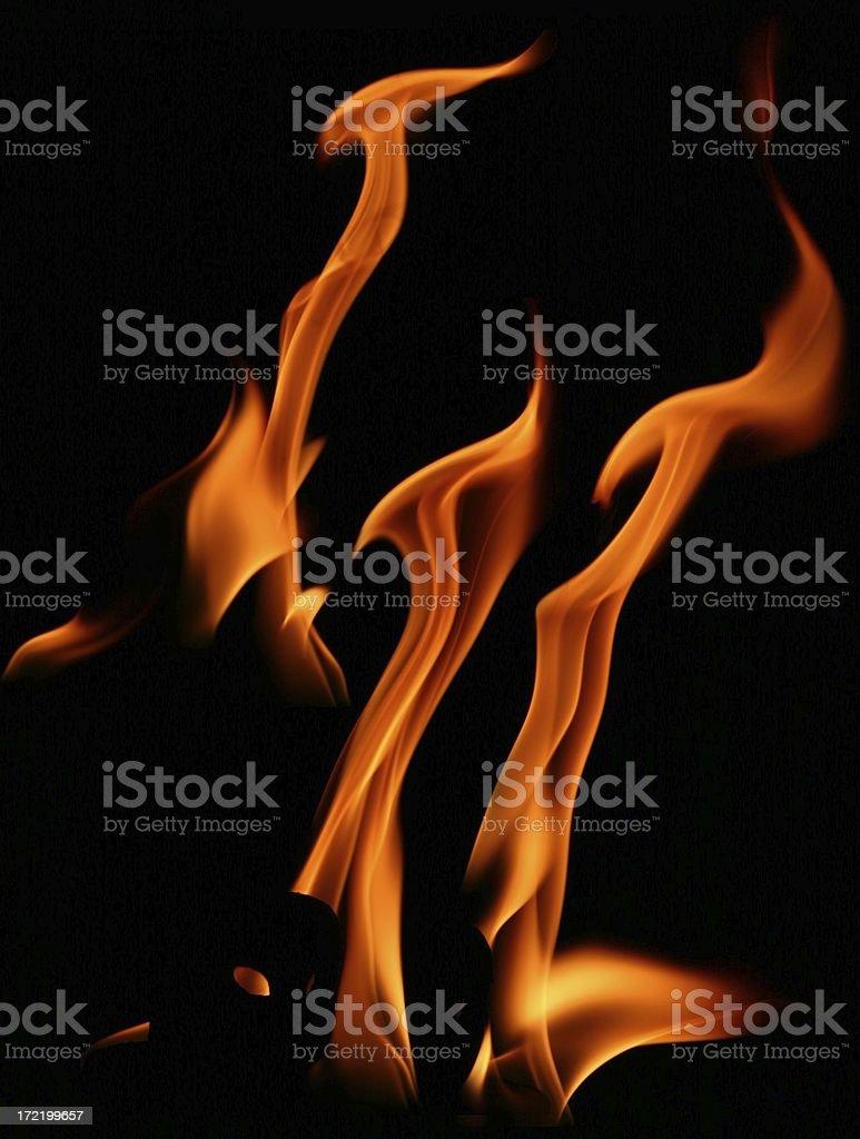 Flame Package II stock photo
