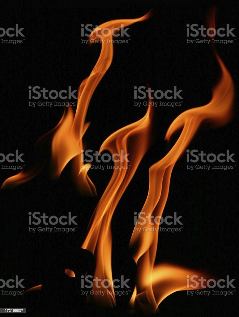 Flame Package II stock photo