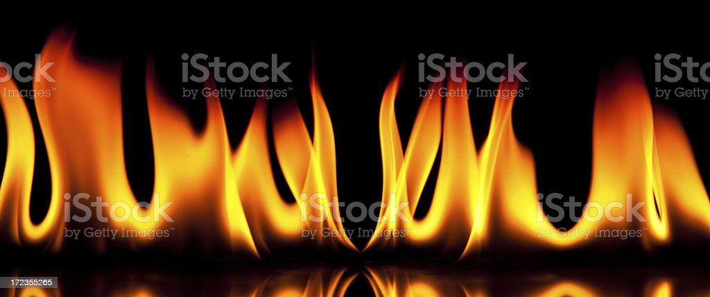 Flame royalty-free stock photo