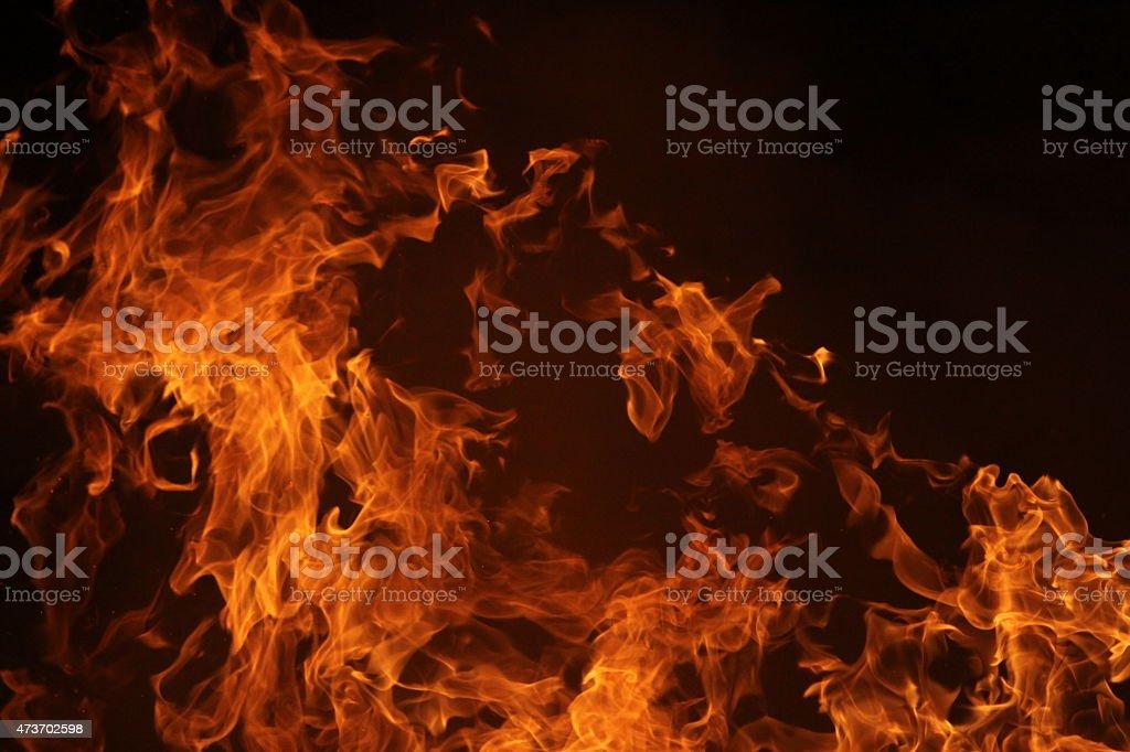 Flame stock photo