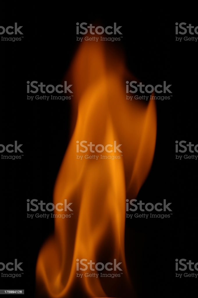 Flame Series 4 royalty-free stock photo