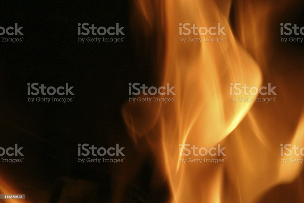 Flame3 royalty-free stock photo