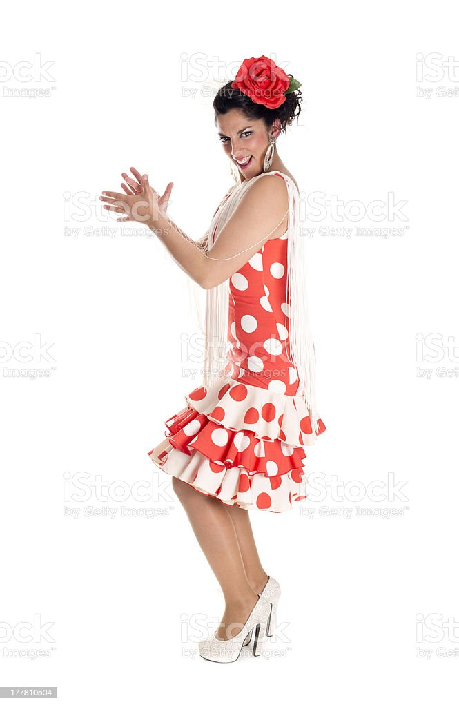 flamenca andalusia clapping stock photo