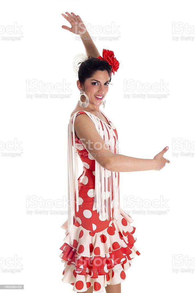 flamenca ole stock photo