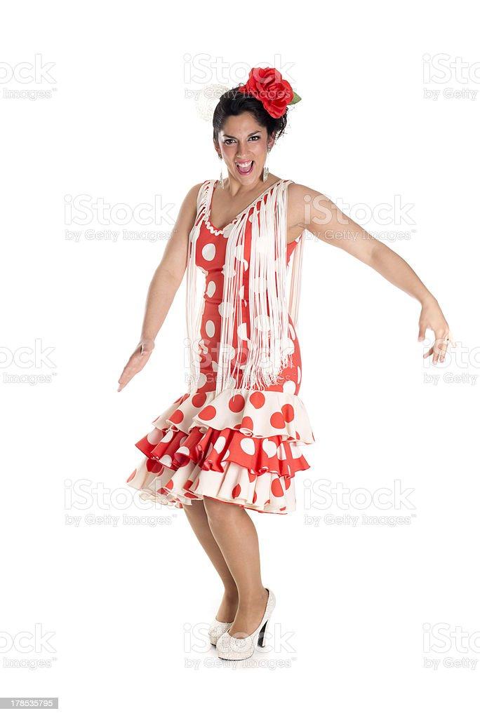 flamenca typical stock photo