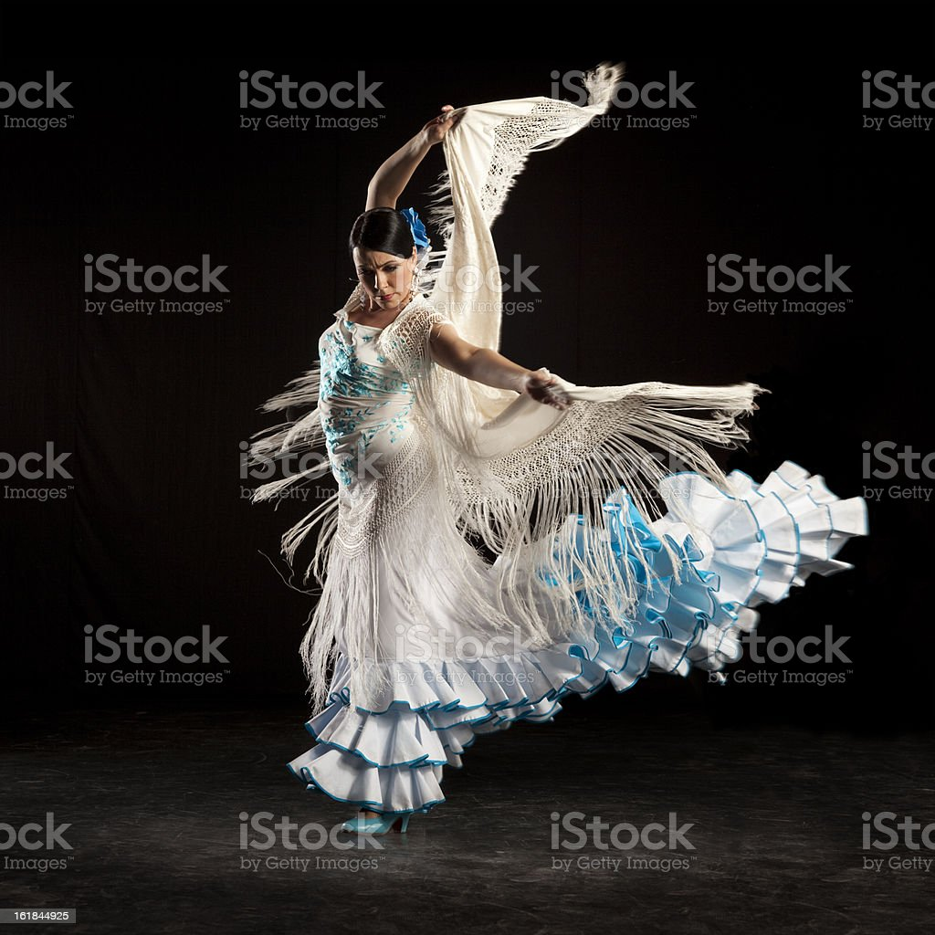 flamenco dancer stock photo