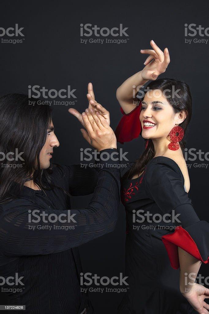 Flamenco Dancing stock photo
